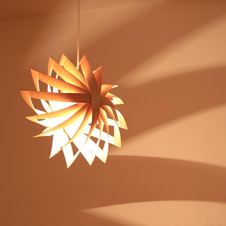 ペンダントライト 1灯 風車[KAZAGURUMA]照明作家 谷俊幸|照明器具 天井照明 間接照明 6畳 おしゃれ デザイナーズ