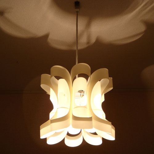 照明作家 谷俊幸 花-はな-[HANA]1灯 ペンダントライト|ハナ シーリングライト デザイナーズ 間接照明 寝室 内