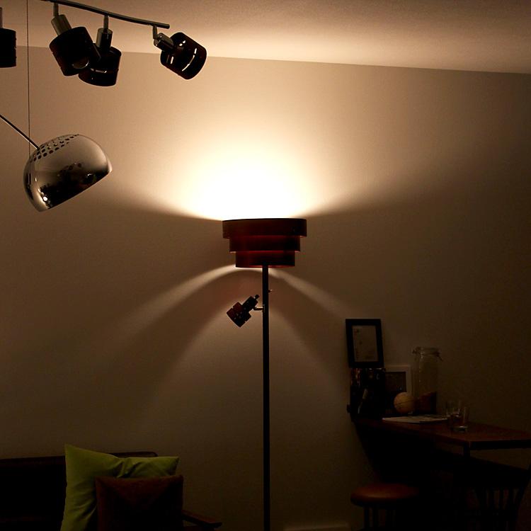スタンド照明 レダ アッパー[LEDA UPPER] | 間接照明 アッパーライト スタンドライト フロアライト フロアランプ 北欧 ナチュラル 照明器具 賃貸 部屋 リビング おしゃれ