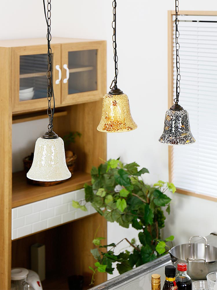 ペンダントライト 1灯 ビードロ アンティーク パステル[Vidlo Antique]BBP-070|天井照明 照明 モザ