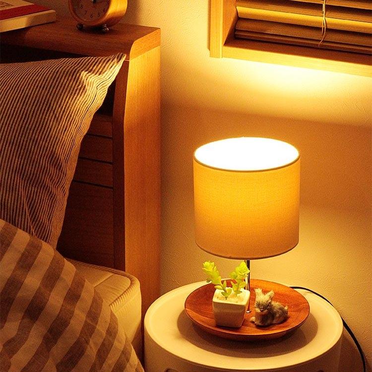 テーブルライト 1灯 カリア[Caelia]ボーベル BBF-026|テーブルランプ フロアライト 間接照明 寝室 おしゃれ LED 照明器具 かわい