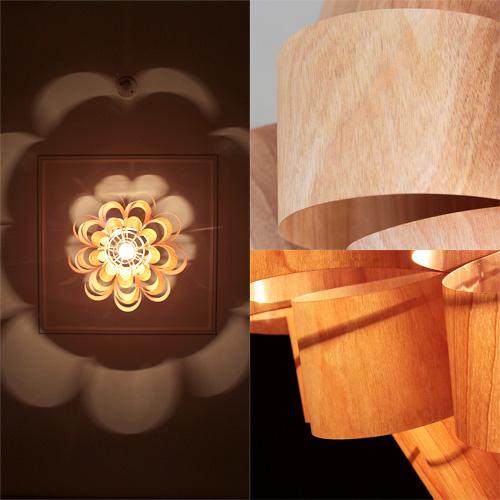 1灯和風ペンダントライト照明 どん2 ウッド[DON2 WOOD]デザイナーズ 照明作家 谷俊幸|天井照明 間接照明 寝室