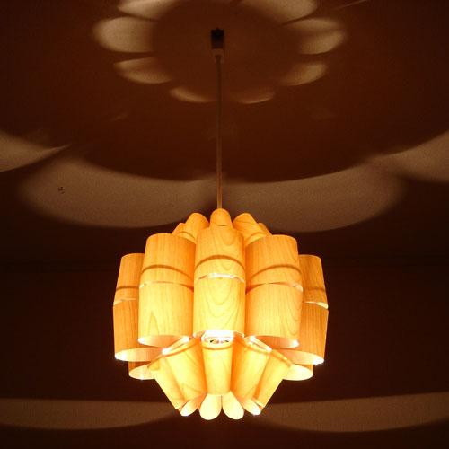 照明作家 谷俊幸 どん ウッド[DON WOOD]1灯 ペンダントライト|シーリングライト 天井照明 間接照明 デザイナ