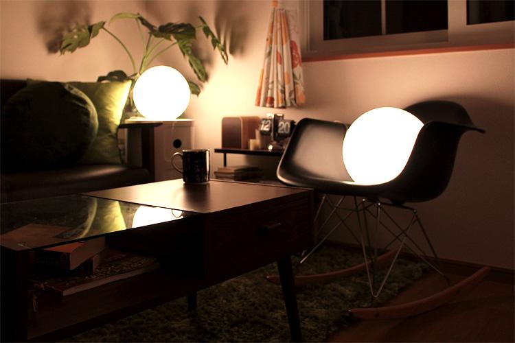 テーブルライト パール S[Pearl S]YTL-338|テーブルランプ 間接照明 フロアライト フロアランプ おしゃれ ベッドルーム 寝室 居間用