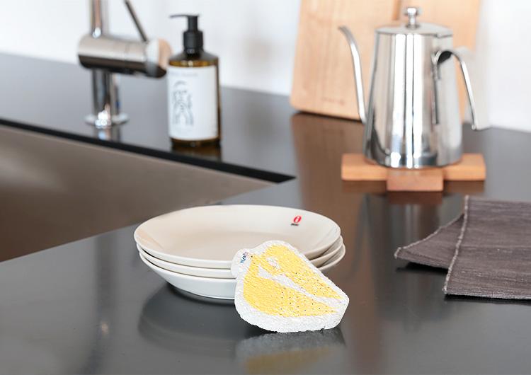 メール便ok katakata カタカタ e.ポップアップスポンジ スポンジワイプ 北欧 吸水クロス くま かもめ 吸水マット キッチン セルロース 水切りマット かわいい キッチン キッチン用品 おしゃれ