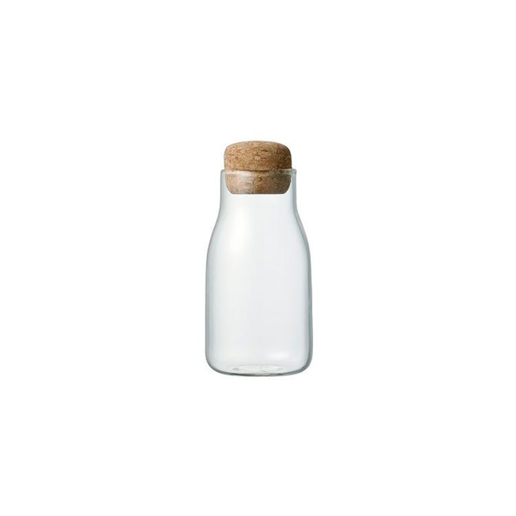 KINTO キントー BOTTLIT ボトル型 キャニスター 150ml【キャニスター 保存容器 保存 容器 ガラス 耐熱ガラス ボトル 密閉 密閉容