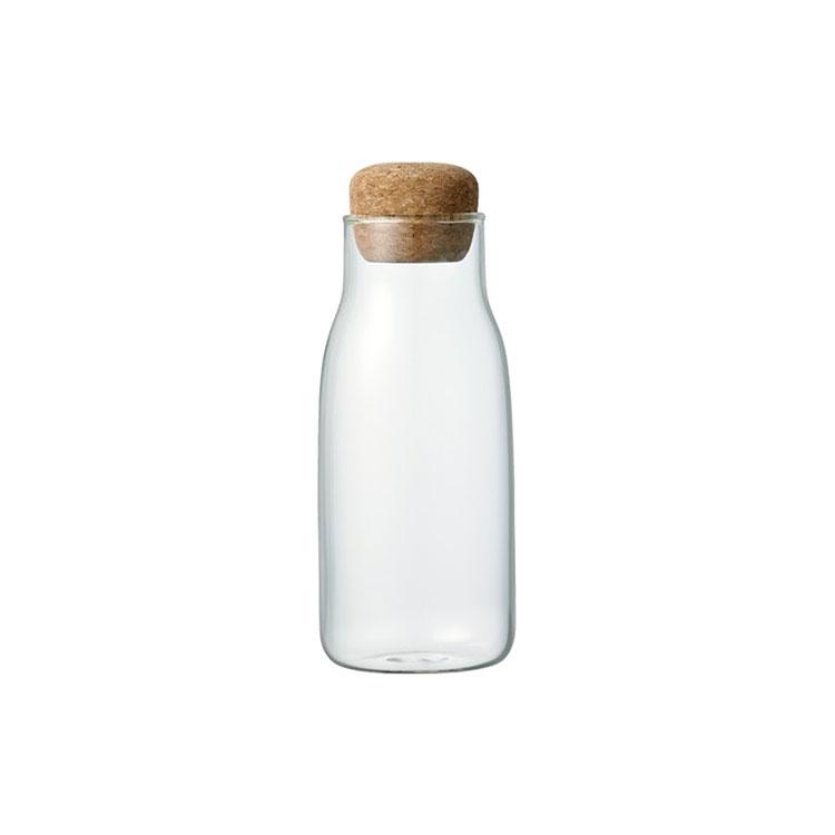 KINTO キントー BOTTLIT ボトル型 キャニスター 300ml【キャニスター 保存容器 保存 容器 ガラス 耐熱ガラス ボトル 密閉 密閉容
