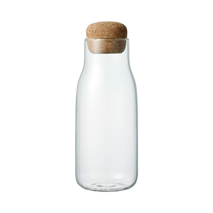 KINTO キントー BOTTLIT ボトル型 キャニスター 600ml【キャニスター 保存容器 保存 容器 ガラス 耐熱ガラス ボトル 密閉 密閉容