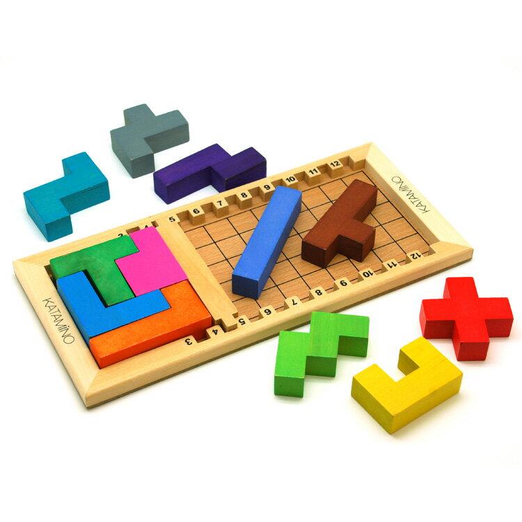 ボードゲーム カタミノ [Gigamic]【テーブルゲーム 脳トレ パズル パズルゲーム 木製 玩具 おもちゃ 知育玩具 木製知育玩具 贈り物 ギフト