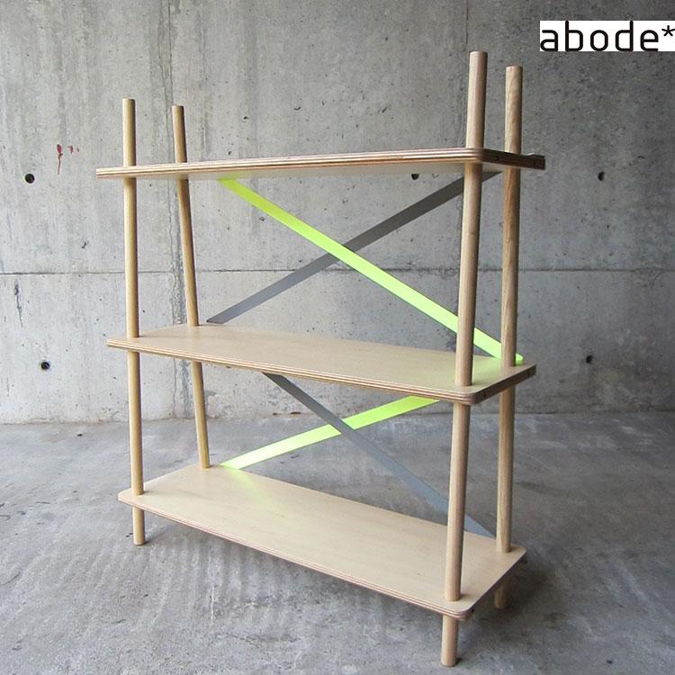 ラック abode アボード XX【シェルフ 棚 本棚 玄関 ダイニング リビング インテリア 木 木製 北欧 テイスト おしゃれ かわい