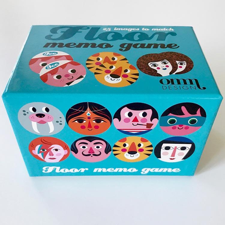 OMM-design メモリーゲーム Memory Game ラウンド【ゲーム カードゲーム 神経衰弱 インゲラ・アリアニウス おしゃれ かわいい
