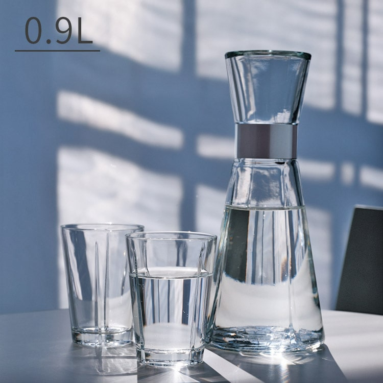 ウォーターカラフェ 0.9L ROSENDAHL GRAND CRU ローゼンタール グランクリュ カラフェ ガラス 900ml ジャグ ピッチャー