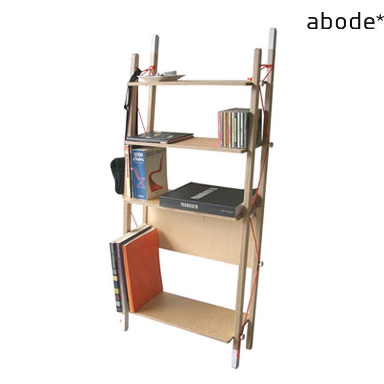ラック abode アボード LADDER RACK Double【シェルフ 棚 本棚 ダイニング リビング インテリア 木 木製 北欧