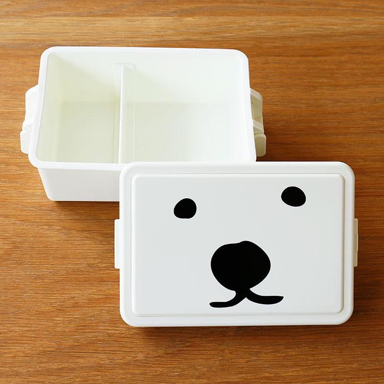 GEL-COOま ランチボックス square Lサイズ【GEL-COOL ジェルクール じぇるく〜ま 弁当箱 お弁当箱 1段 お弁当グッズ お弁当