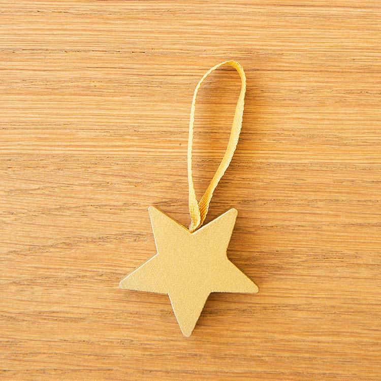 ラッセントレー Larssons Tra オーナメント スター ゴールド【スウェーデン クリスマスツリー 飾り オブジェ オーナメント 木 かわいい】