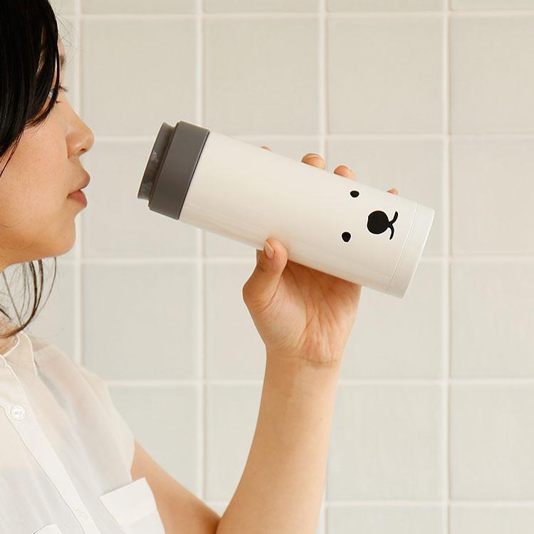 マグボトルく〜ま 350ml【水筒 直飲み マイボトル マイ水筒 タンブラー ステンレス ボトル マグボトル クマ くま 熊 シロクマ アウトドア