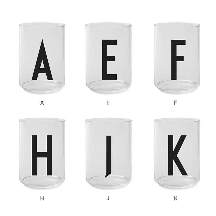 パーソナルドリンキンググラス デザインレターズ DESIGN LETTERS 北欧食器 北欧 食器 コップ グラス ガラス 雑貨 アルファベット