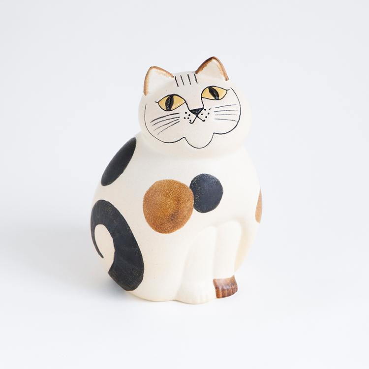 オブジェ Lisalarson ねこのぶち ミディアム リサラーソン アニマル 動物 かわいい 可愛い 雑貨 猫 ネコ インテリア 玄関 子供部屋 キ