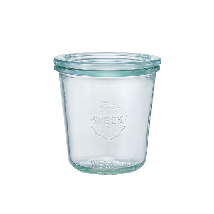 キャニスター WECK ウェック モールドシェイプ 250ml【保存 容器 保存容器 ガラス ガラス容器 調味料 小物入れ 小分け ガラス瓶 シンプル