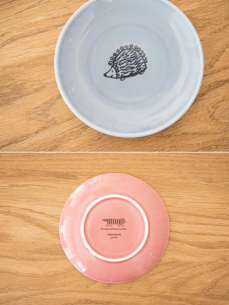 LisaLarson リサ・ラーソン 13cm プレート【Lisa Larson リサラーソン お皿 皿 磁器 マイキー 食器 小皿 雑貨