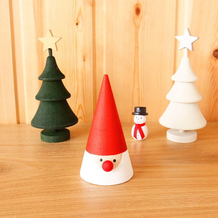 ラッセントレー Larssons Tra スウェーデン クリスマストムテ Mサイズ【オブジェ 置物 置き物 サンタ サンタクロース 木 木製 女性】