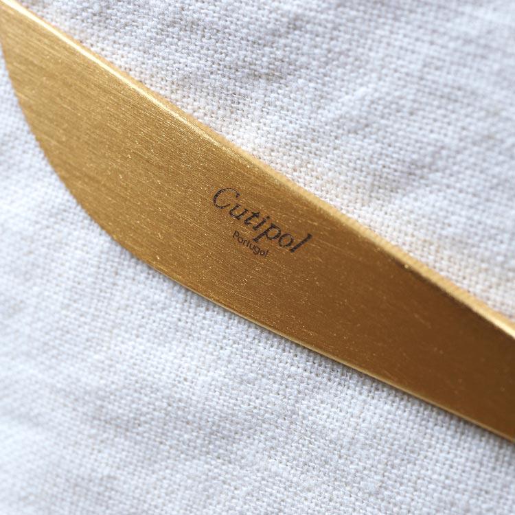 クチポール GOA ゴア ゴールド GO03G テーブルナイフ カトラリー ナイフ ディナー ステンレス キッチン雑貨 シンプル