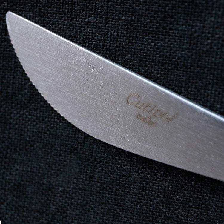 クチポール GOA ゴア ホワイト GO03W テーブルナイフ カトラリー ナイフ ディナー ステンレス キッチン雑貨 シンプル