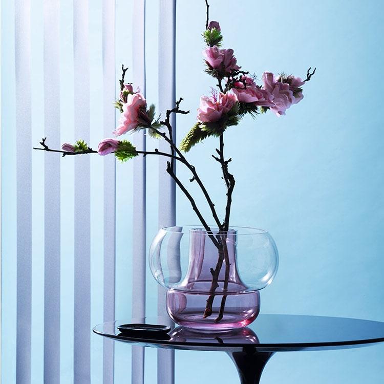 花瓶 カドーベース CADO Vase HOLMEGAARD ホルムガード 柴田文江 フラワーベース 花器 一輪挿し シンプル 吹きガラス インテリア