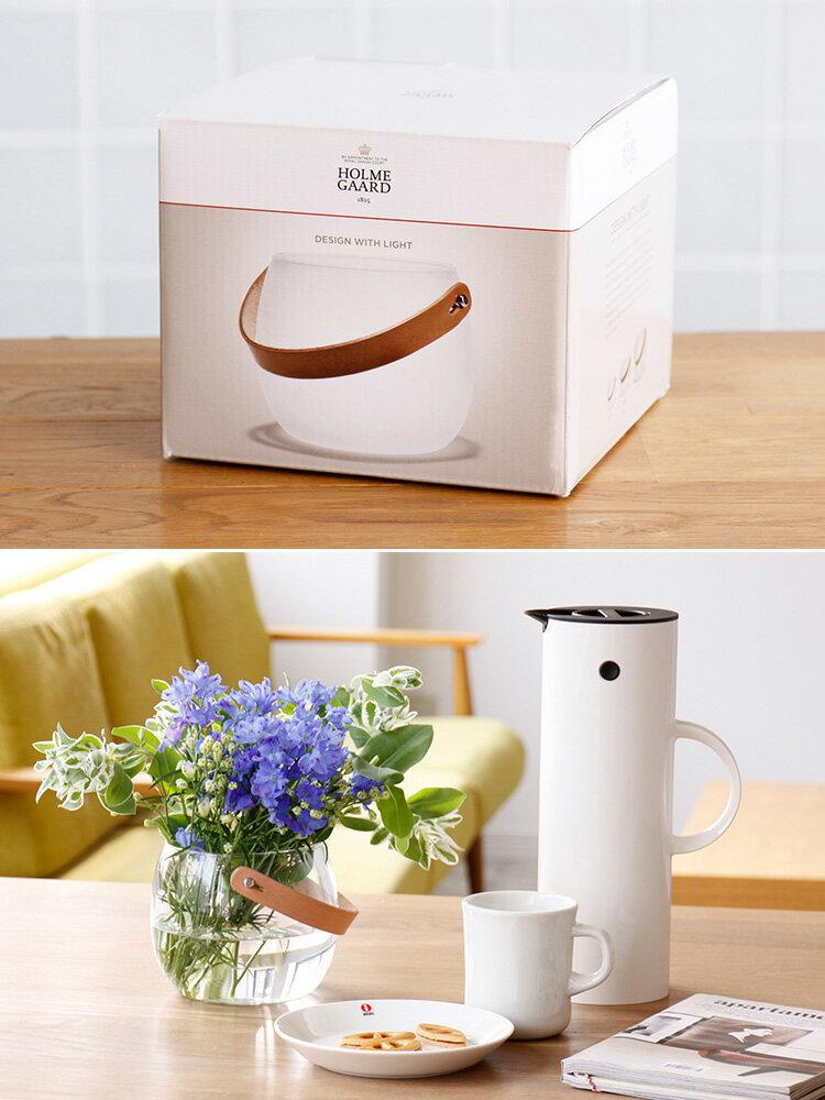 ホルムガード HOLMEGAARD Design With Light ポット クリア H12cm【フラワーベース 花器 花瓶 一輪挿し シンプル