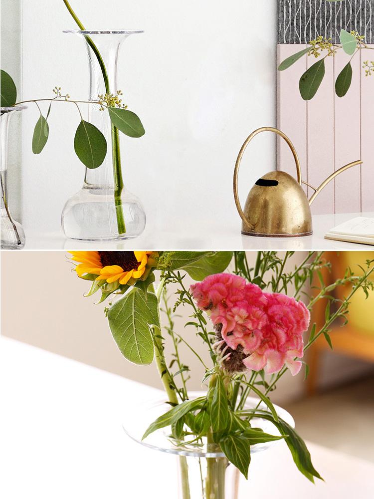 ホルムガード HOLMEGAARD オールドイングリッシュ ソリティアベース H30cm【フラワーベース 花器 花瓶 一輪挿し シンプル ガラス】