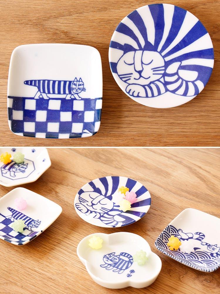 LisaLarson リサラーソン 豆皿 5枚セット【Lisa Larson 北欧食器 北欧 食器 お皿 皿 リサ・ラーソン マイキー ベイビーマイキ