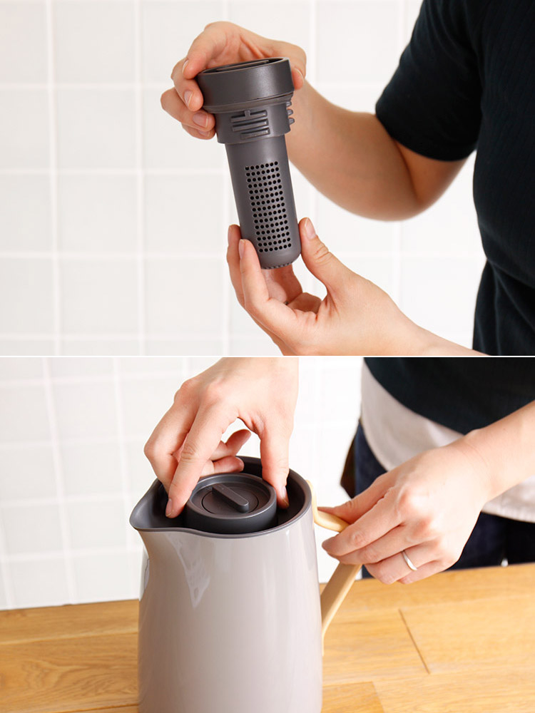 Emma エマ ティーポット バキュームジャグ TEA 1L ステルトン stelton 1リットル ジャグ 魔法瓶 保温 ポットス
