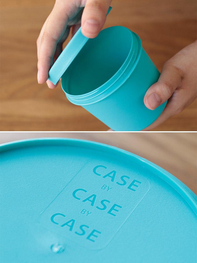 CASE by CASE by CASE Sサイズ 350ml 3個セット【ケースバイケースバイケース ランチボックス お弁当 お弁当箱 弁当 ランチ
