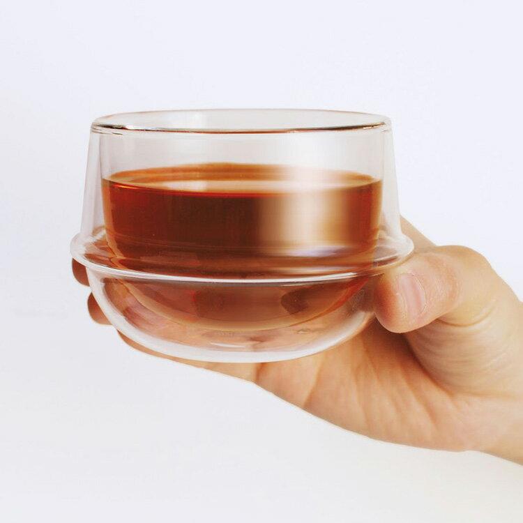 KINTO キントー KRONOS クロノス ダブルウォール ティーカップ 200ml【ティーカップ カップ ティー コップ グラス お茶 紅茶 緑茶