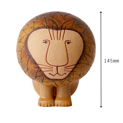リサラーソン LisaLarson LION ライオン Mediun ミディアム【リサ・ラーソン Lisa Larson 陶器 置物 オブ