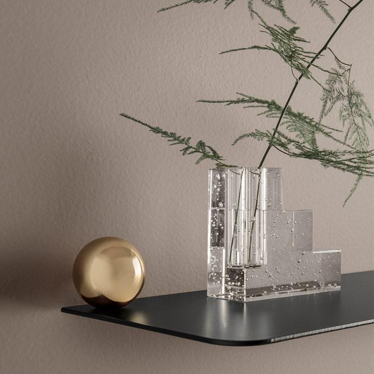 フラワーベース Bubble Glass バブルグラス Stairs ステアーズ ファームリビング ferm LIVING ファームリビング 花瓶 花