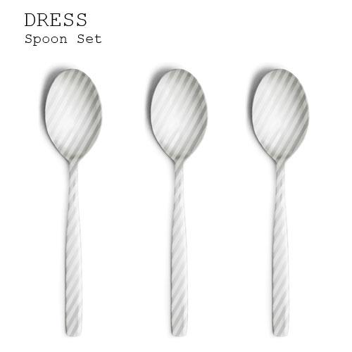 カトラリーセット DRESS Dinner Set 3本入り【カトラリーセット カトラリー 日本製 ステンレス シンプル スプーン フォーク ナイフ