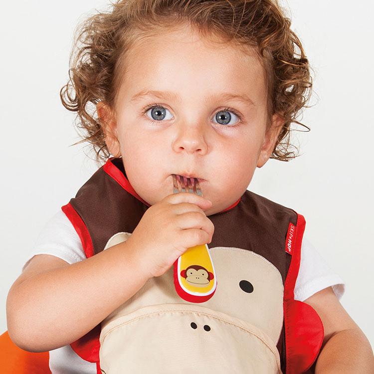 パッカブル アニマルビブ スキップホップ SKIP HOP【スタイ よだれかけ ビブ お食事エプロン おもしろ バンダナスタイ 赤ちゃん ベビー