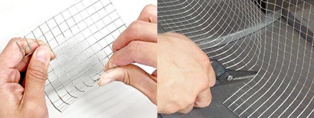 太陽光パネル鳥害対策 バードブロッカー 伸縮金具 皿ネジM 屋外用強力両面テープ付