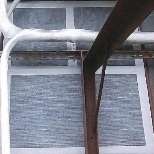 ネズミ抑止シート カライン粘着テープ[大] 14cm×24m乱/巻