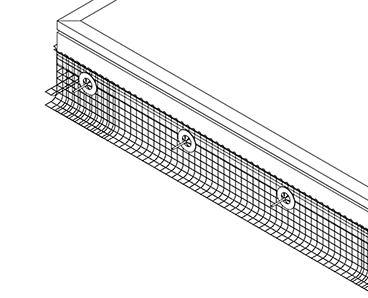 太陽光パネル鳥害対策 バードブロッカー フック金具 SHARP製太陽光パネル対応