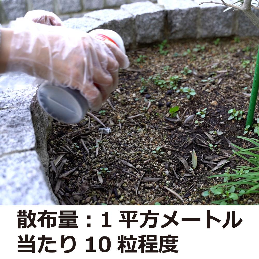 動物忌避剤 逃げまんねん!小石サイズ 1L×12 【送料無料】