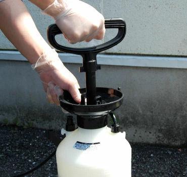 マイマイガ アメリカシロヒトリ 毛虫駆除用殺虫剤 トレボンEW 500ml+噴霧器ダイヤスプレー 4L No.8740セット 農薬 低臭性
