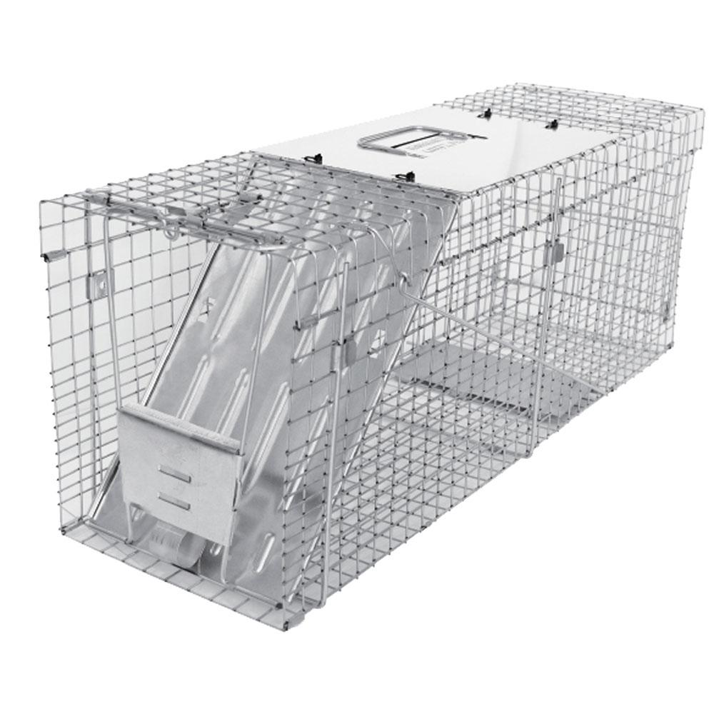 動物捕獲器アニマルトラップ MODEL1089 セイフティ中型動物用トラップ [捕獲器 捕獲機]
