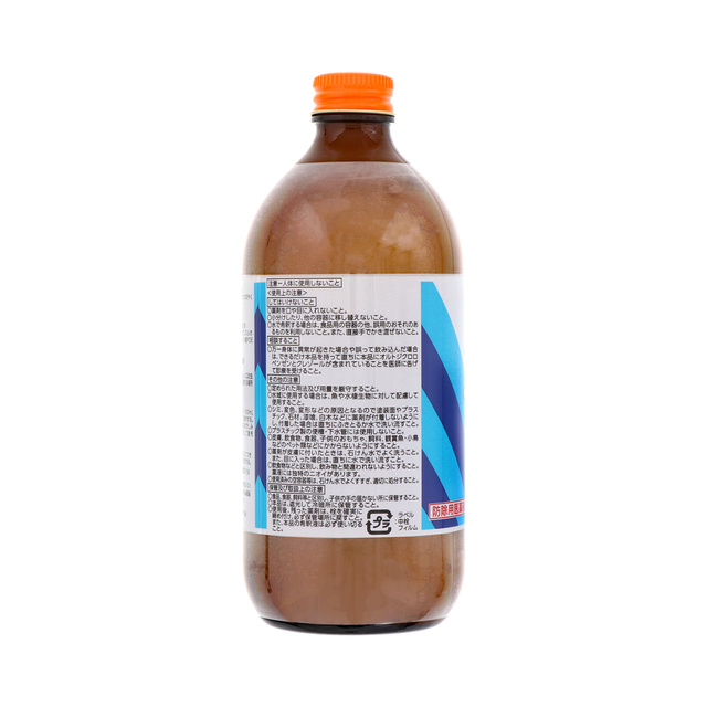 うじ用 バポナ うじ殺し (液剤) 500mL 【防除用医薬部外品】 殺虫剤 ボウフラ駆除
