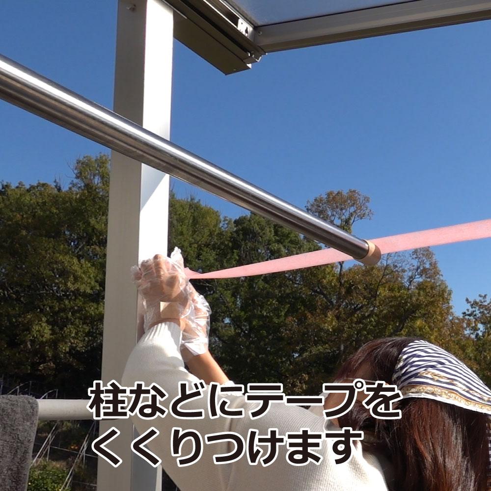 カメムシいやよ〜 忌避テープ [30mm×10m] [カメムシ撃退]