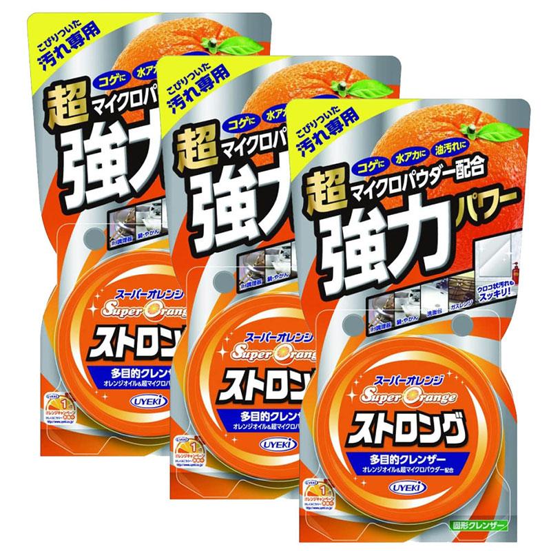 スーパーオレンジストロング 95g×3個 UYEKI(ウエキ)多目的クレンザー