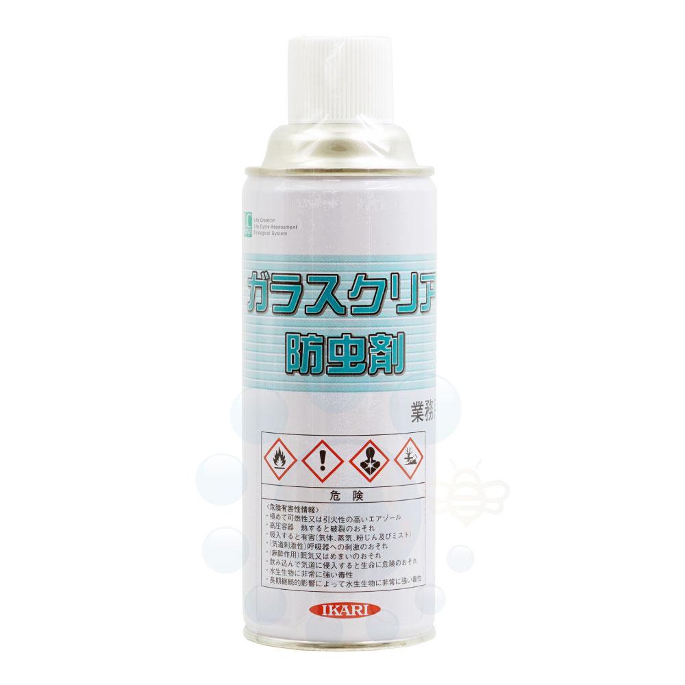 ガラスクリア防虫剤 420ml 窓ガラス専用殺虫剤
