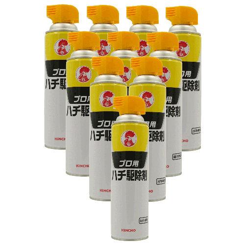 スズメバチ駆除 金鳥 プロ用ハチ駆除剤 510ml×10本 ハチの巣駆除 害虫駆除業者専用