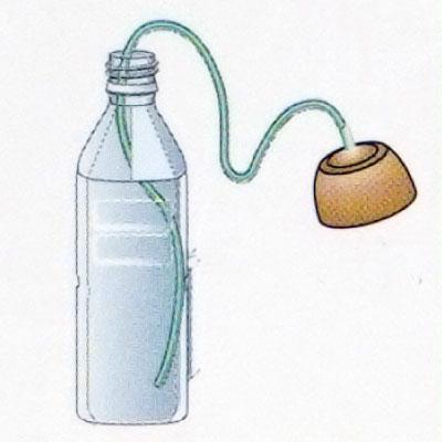 自動給水器 自動水やり器 水やり当番 Lサイズ 旅行 留守 ベランダ プランター 菜園 ダリヤ